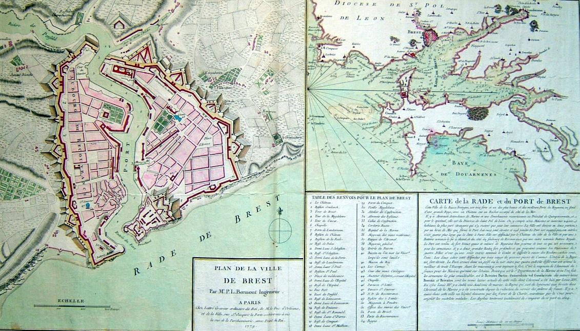 Ville De Brest Carte