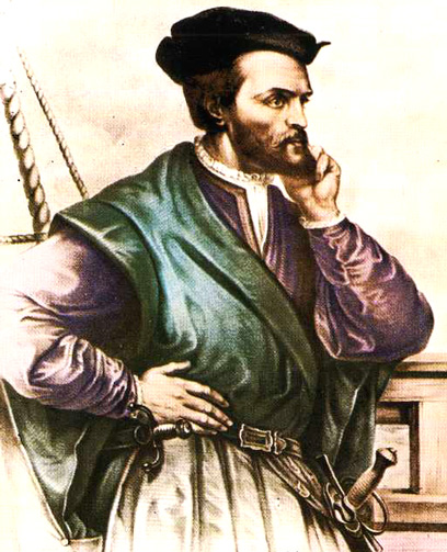 L'explorateur fran�ais Jacques Cartier