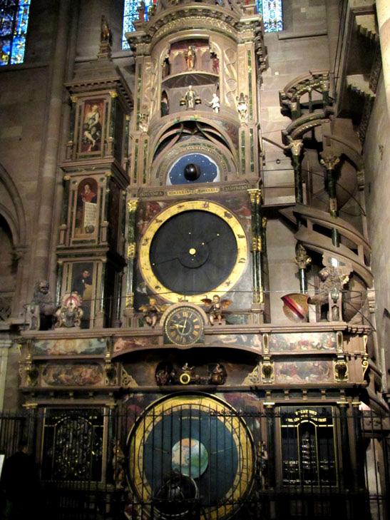 horloge de la cathedrale de strasbourg