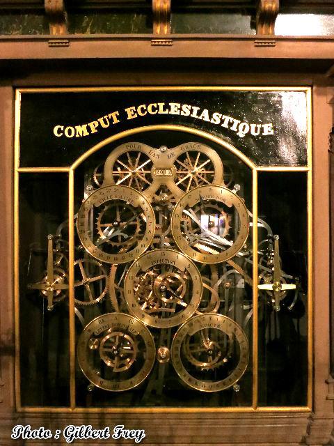 L 39 horloge astronomique de la cath drale de strasbourg - Horloge avec mecanisme apparent ...