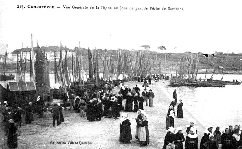 Concarneau : Histoire, Patrimoine, Noblesse (commune chef