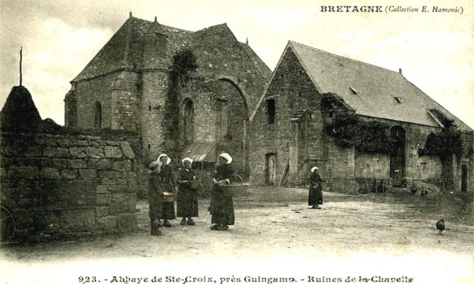 Guingamp   Histoire, Patrimoine, Noblesse (commune chef lieu de canton) 412f682f8d9