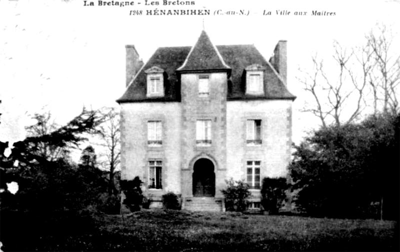 h nanbihen histoire patrimoine noblesse commune du canton de matignon. Black Bedroom Furniture Sets. Home Design Ideas