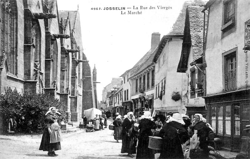 Josselin : histoire patrimoine noblesse commune chef lieu de canton