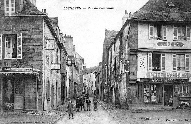 Noblesse commune De Patrimoine Canton Lesneven Chef Lieu Histoire qEtwwY6