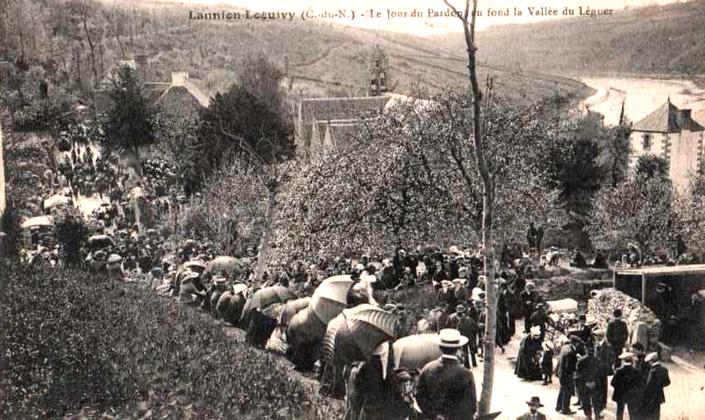 Loguivy ls lannion histoire patrimoine noblesse - Comptoir metallurgique de bretagne lannion ...
