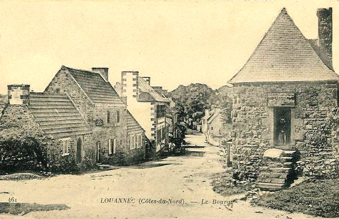 Louannec Histoire Patrimoine Noblesse Commune Du
