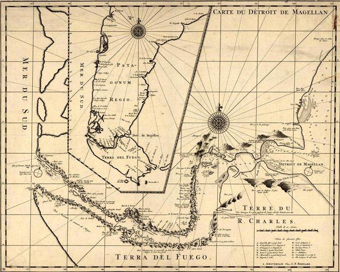 La traversée du détroit de Magellan