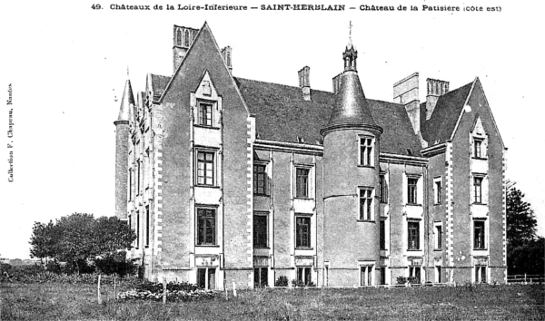 saint herblain histoire patrimoine noblesse commune chef lieu de canton. Black Bedroom Furniture Sets. Home Design Ideas