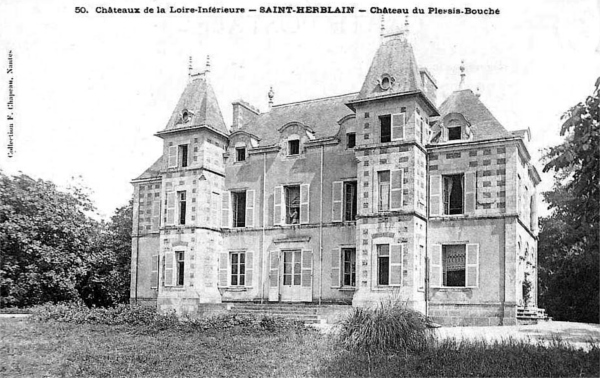 Saint-Herblain : Histoire, Patrimoine, Noblesse (commune chef lieu ...
