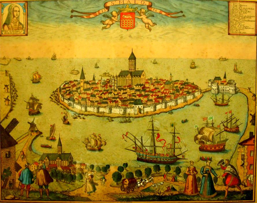 Saint Malo Histoire Patrimoine Noblesse Commune Chef Lieu De Canton