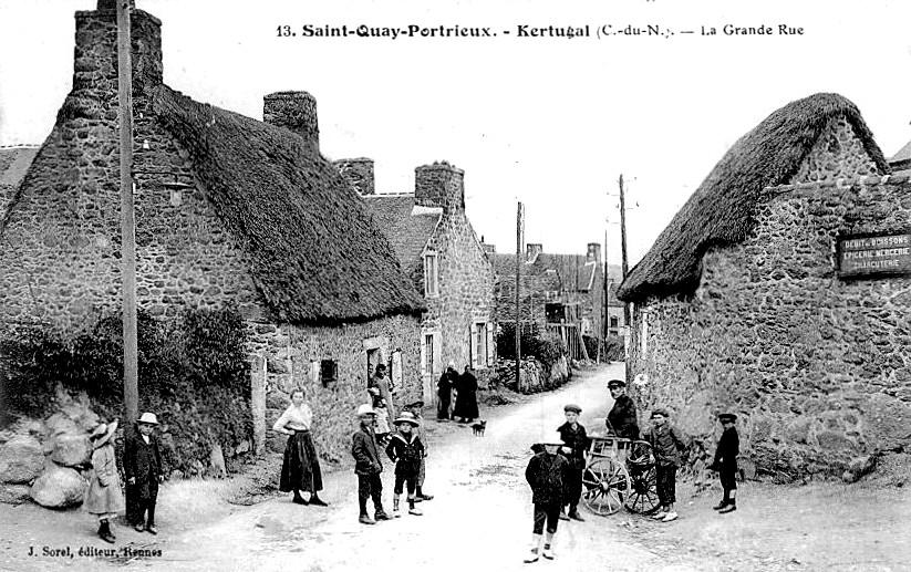 Saint quay portrieux histoire patrimoine noblesse - Port de saint quay portrieux ...