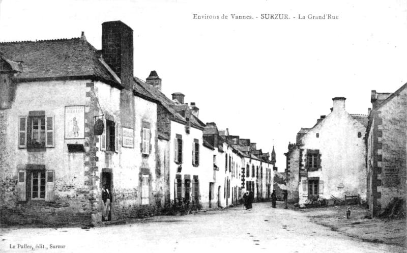 Surzur   Histoire, Patrimoine, Noblesse (commune du canton de Vannes) cc7452d1f871