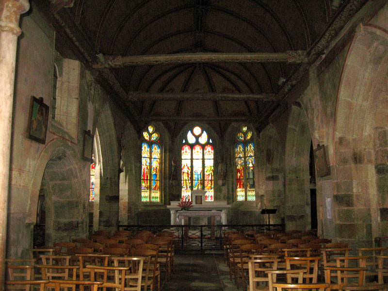 Trémel (Bretagne) : église Notre Dame de la Merci